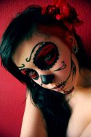 Mexican Skull by OceansOfLove