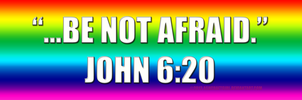 LGBT Biblical Bumper Sticker Supporter by zomberinacontagion