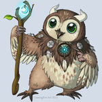 The tiniest moonkin by CunningFox