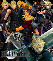 Final Fantasy - Cloud Strife by DENDEROTTO