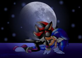 MoonLight SonAdow by JezzTheHedgehog