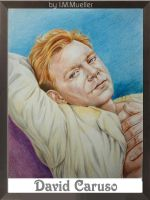 David Caruso in Colored Pencil by honeylips1