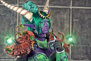 World Of Warcraft : Ysera by crazyball