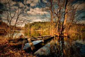 Day at the pond by tomsumartin