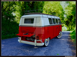 VW Bus T back WIP by Yorzua