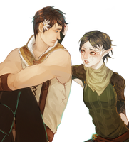 carver x merrill by snowy-town