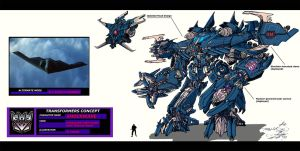 Movie Shockwave concept colors by AcidWing