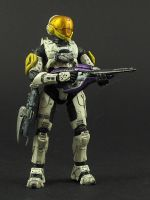 Spartan Tekka -Action Figure by Tekka-Croe