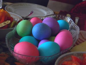 Painted Easter eggs by bloody-magpies