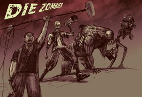 Zombie Film by rubendevela