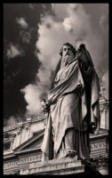 St. Peter's Piazza: St. Paul by rojoepeters