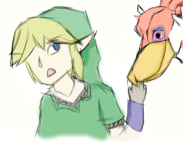 Skyward Sword by iThatQuietGirl