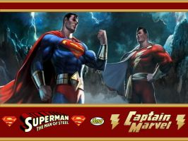 MK VS DC Superman WP by Superman8193