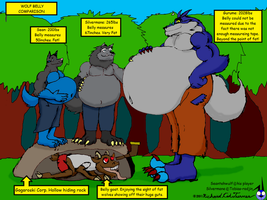 Wolf belly comparisson by NightCrestComics
