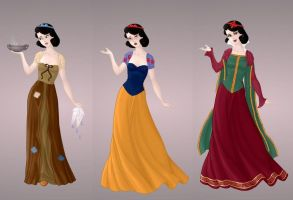 Snow White Wardrobe in Goddess Scene by autumnrose83