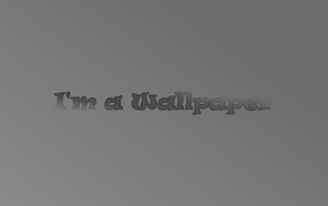 I'm a wallpaper by Toby847