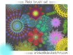 Meia Brush Set by Zrinka