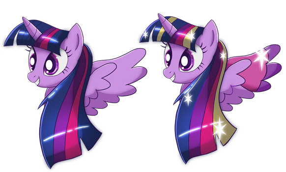 Twilight Sparkle Shirt Designs by Ilona-the-Sinister