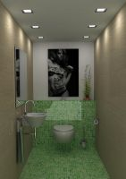 Green WC by pnn