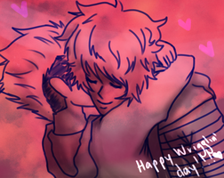 Happy Wriggling Day Eva! 1/2 by ReturnT0Zer0