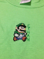 Luigi T-shirt by glancesherlock