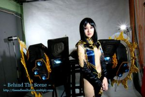 Behind The Scene : Isis II by pinkyluxun