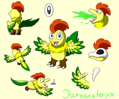 Kirby OC: Juraarateryx by Birdon14