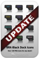 BRK-Black Dock Icons Update by beraka