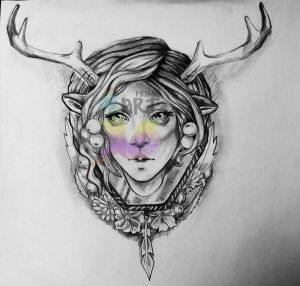 Artemis Tattoo Design