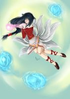Ahri- the nine tailed fox ( League of Legends ) by Hamzilla15