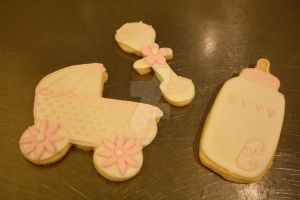 Baby Shower Cookies by theSugarmonger