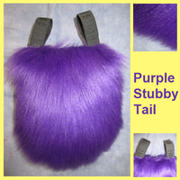 Purple Stubby Tail by Lascivus-Lutra