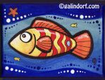 Red Fish by Galindorf
