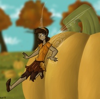 The Pumpkin Patch by Rainbow-Rivulet