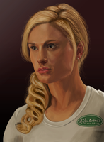 Sookie Stackhouse - True Blood by MarkAndrewNeilson