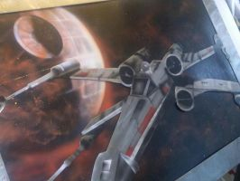 x-wing fighter 2 by JohnArmbruster