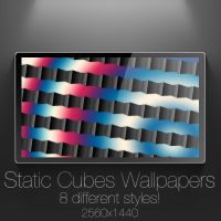 Static Cubes Wallpapers by NKspace