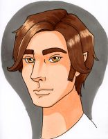 Young Remus COLOR by crzydemona