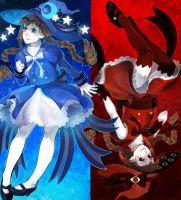 Blue|Red by TakanoDem