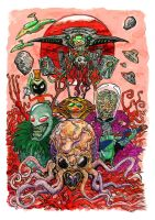 The Martians by Clone-Artist