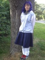Hinata Back To School 'Cosplay' by BloodKaika
