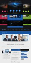 Moon PSD Template by trcakir
