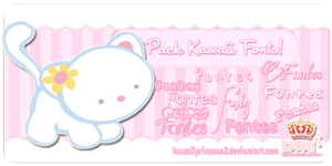 Kawaii Fonts by kawaiiprincess2