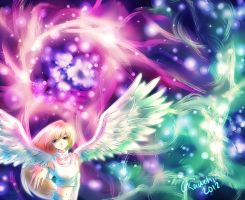 angel of space by Kawchii