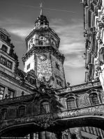 Bridge of Sighs in Dresden by pingallery