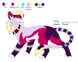 -Design Trade- A lioness for JB-Pawstep by Farbenreich