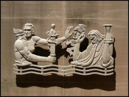 Fulton Health Frieze 2 by wiebkefesch