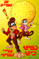 Tenage Funky Monkey Kongs Kops by Chucha616