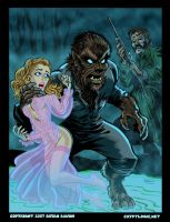 The Wolf Man by BryanBaugh