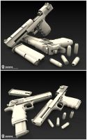 Desert Eagle 3D Finished by Beppe87